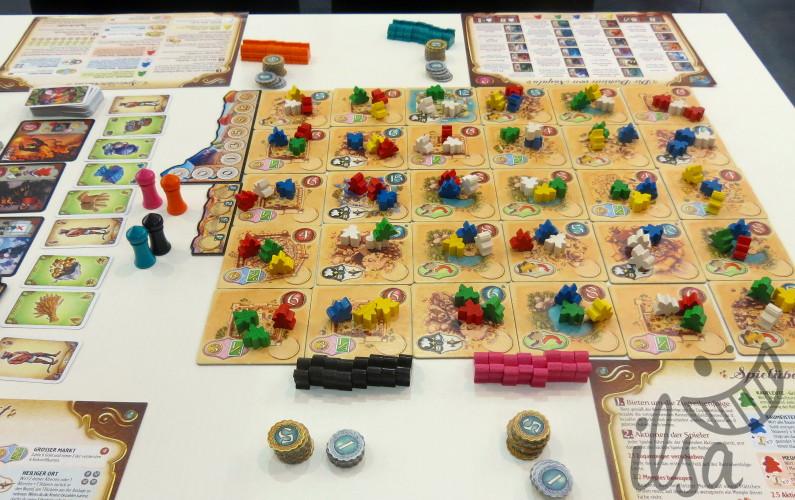 plateau de jeu de Five Tribes