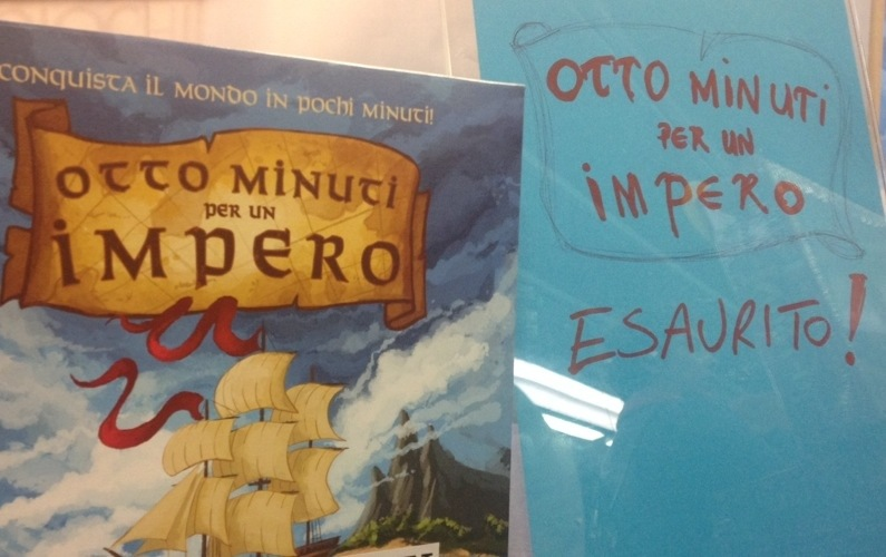 Otto minuti per un impero: sold out!