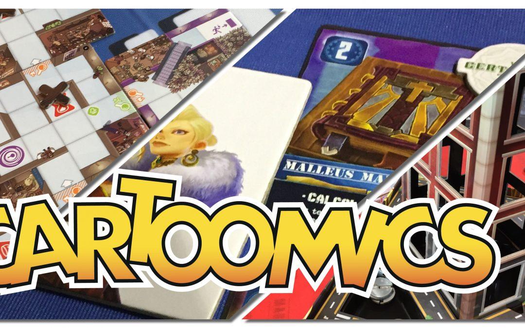 Cartoomics Milano, scatole tra i fumetti