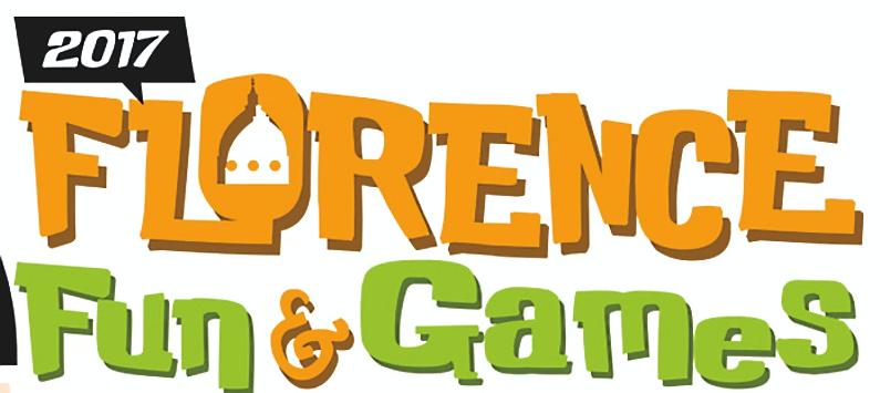 Florence Fun & Games Festival banner