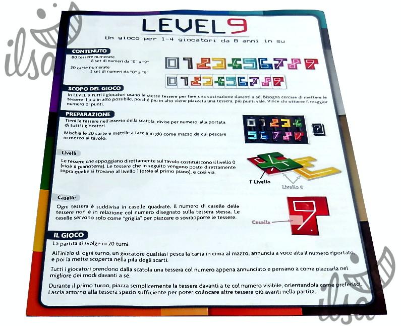 Level 9 regolamento