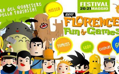 Arriva il Florence Fun & Games Festival