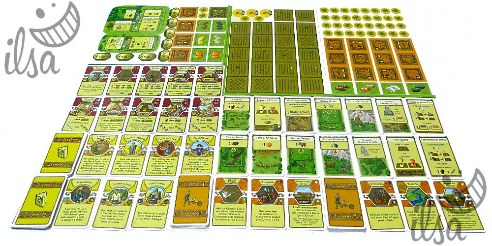 Agricola (revised) carte e fustelle