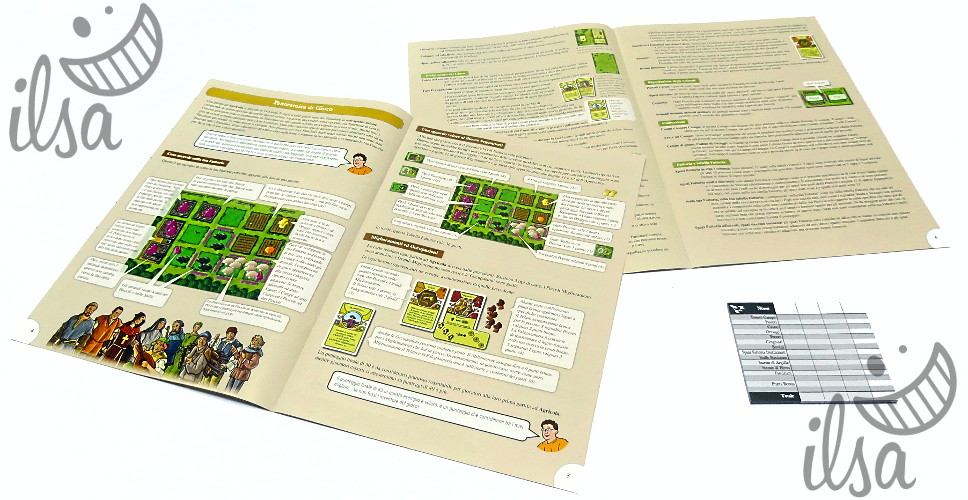 Agricola (revised) regolamenti