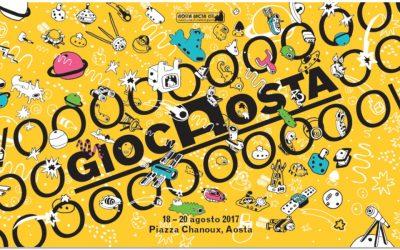 Presto la IX edizione di GiocAosta (18-20 Agosto 2017)