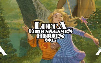 Novità a Lucca Comics & Games 2017