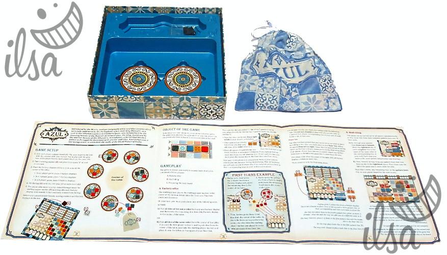 Azul regolamento scatola