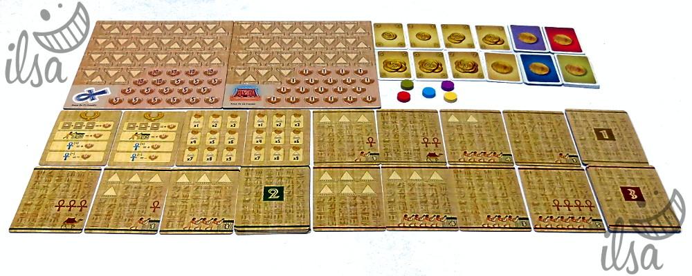 Amun-Re TCG materiali