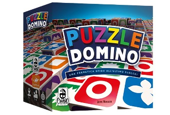 Puzzle Domino scatola Cranio Creations