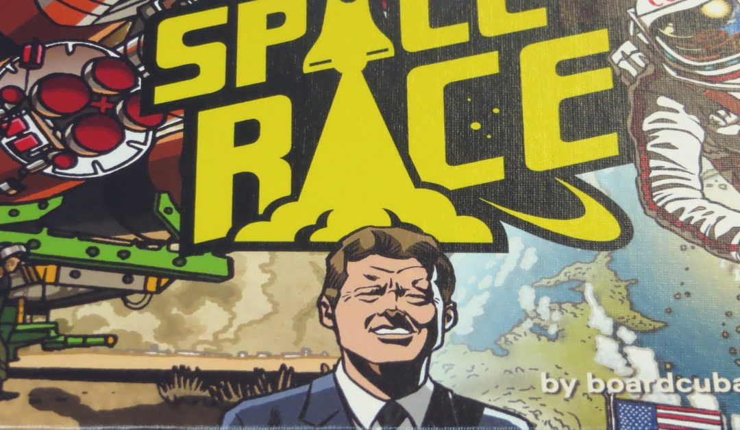 Space Race: The Card Game – Unboxing