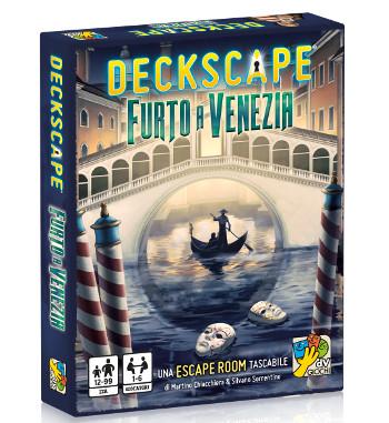 Deckscape Furto a Venezia dV Giochi