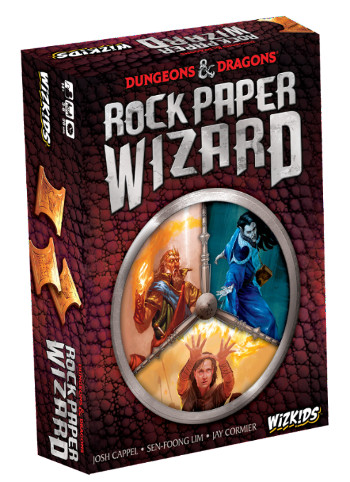 D&D Rock Paper Wizard Ghenos Games