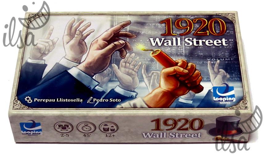 1920 Wall Street scatola