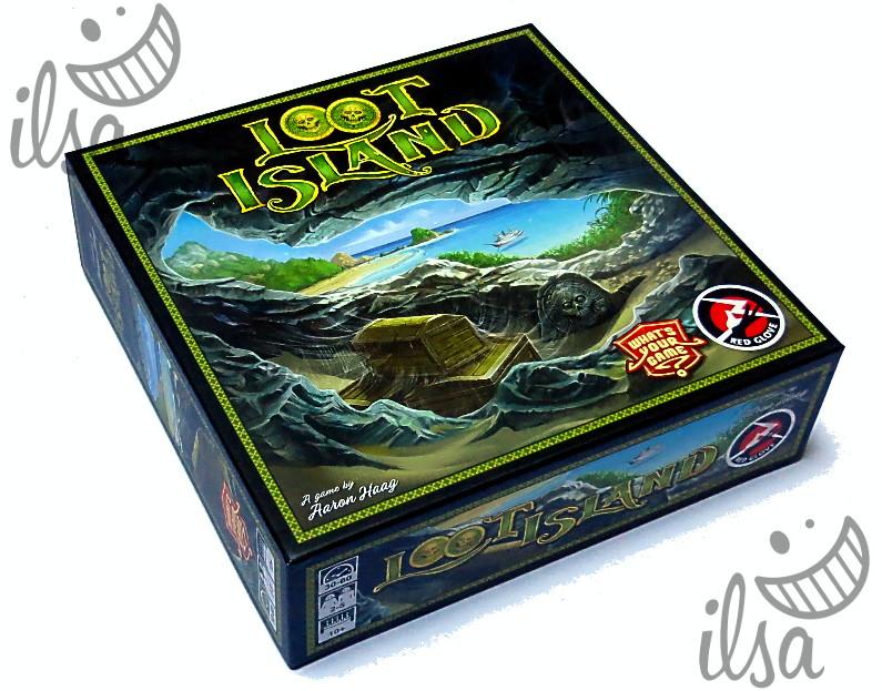 Loot Island scatola