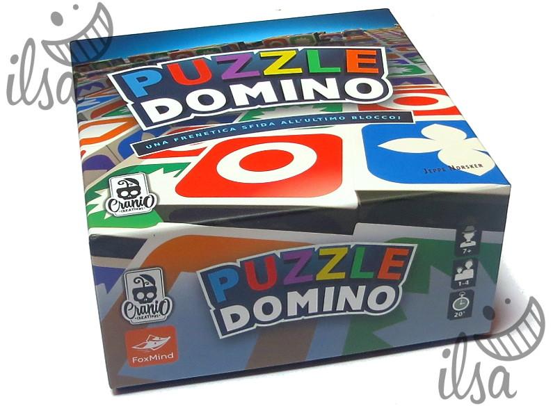 Puzzle Domino scatola