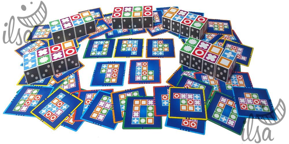 Puzzle Domino Materiali