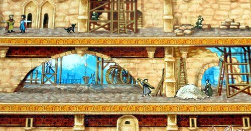 Babylon Tower Builders dettaglio