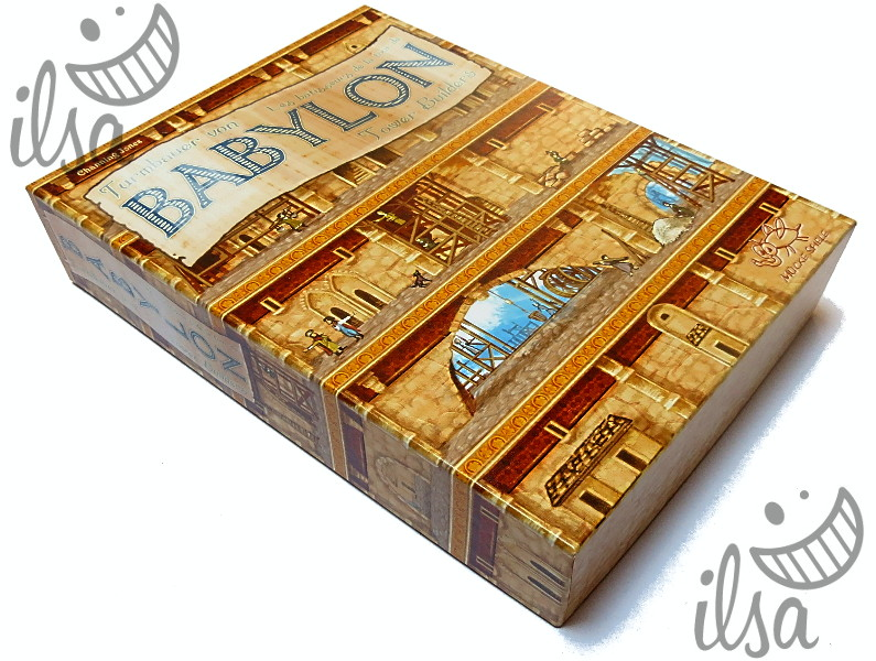 Babylon Tower Builders scatola