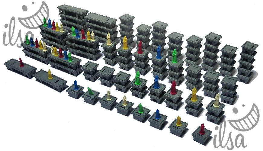 Babylon Tower Builders materiale