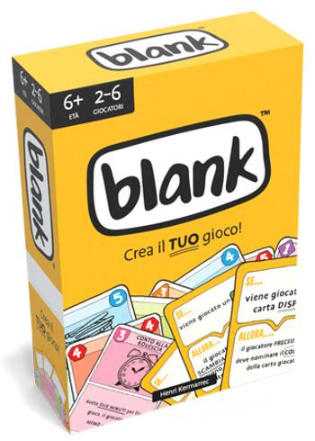 Blank scatola