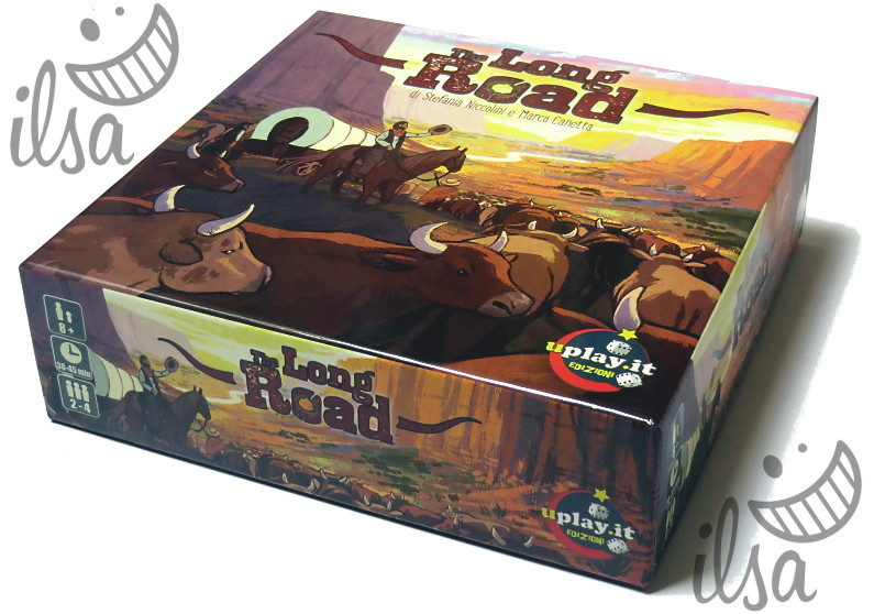 The Long Road scatola