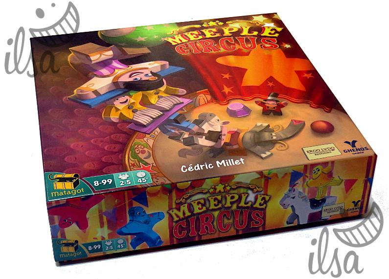 Meeple circus scatola