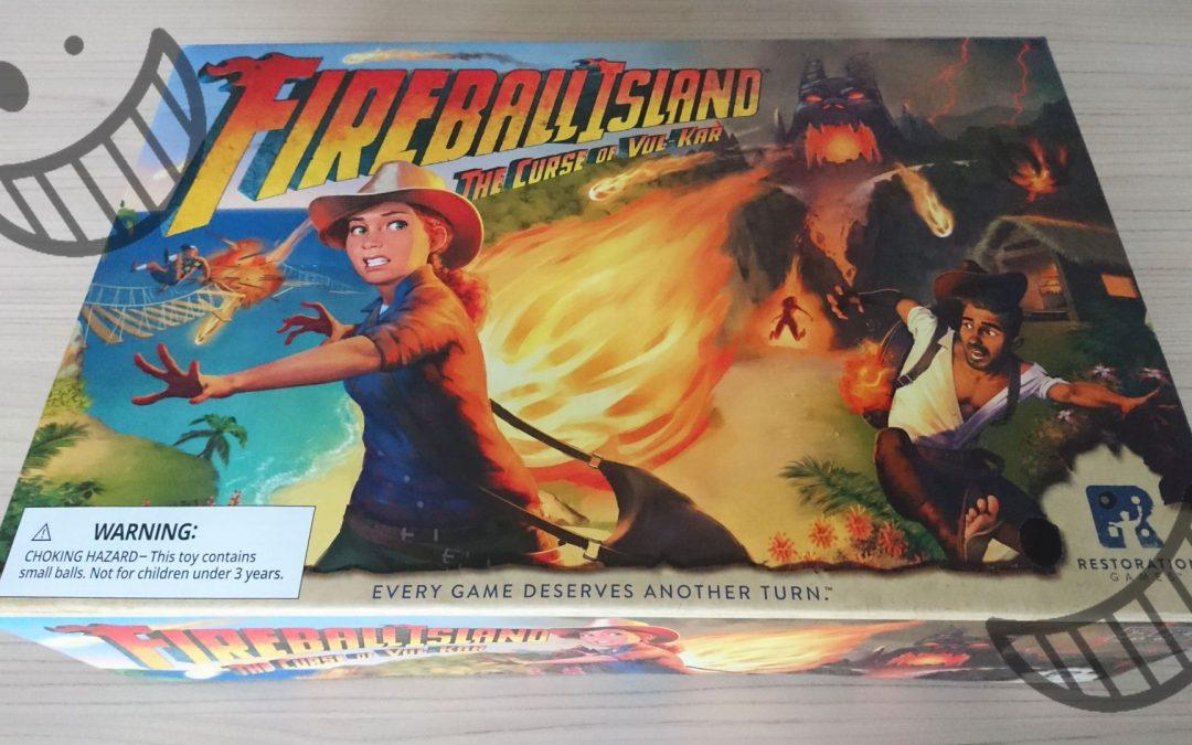 Fireball Island – Unboxing